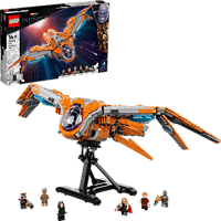 LEGO 76193 Das Schiff der Wächter Bausatz, Mehrfarbig