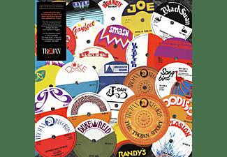 VARIOUS - TROJAN STORY  - (Vinyl)