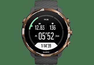 Reloj deportivo - Suunto 7, Graphite Copper, 48h, Más de 70 modos deporte, Mapas offline, Sumergible, Google