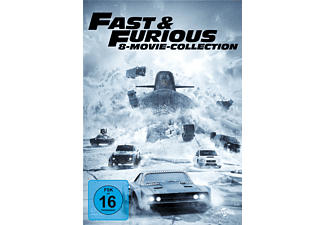 Fast & Furious - 8-Movie Collection DVD