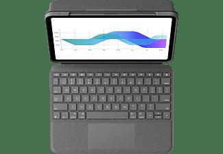 LOGITECH Keyboard Case Folio Touch für iPad Air (4. Generation), Grau