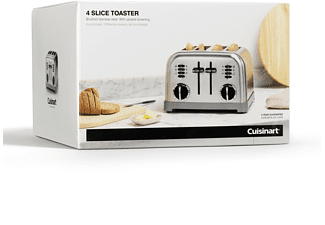 CUISINART 4-Schlitz Toaster Edelstahl CPT180E