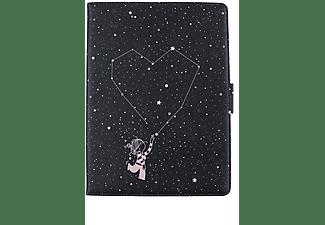 """Funda tablet - La Volátil Estrellas, Entre 9,7"""" y 10,2"""", Tapa de libro, Cierre imán, Soporte 360º, Multicolor"""