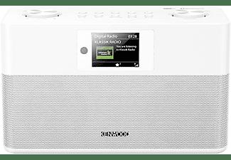"""Radio portátil - Kenwood CR-ST80DAB-W, TFT 2.4"""", 20 W, DAB+ con RDS, FM, Bluetooth, Bassreflex Stereo, Blanco"""