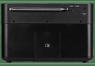 Radio portátil - Kenwood CR-ST50DAB-B, 6 W, Bluetooth, DAB+, FM con RDS, Modo Sleep, Entrada AUX, Negro