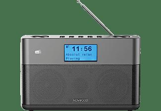 Radio portátil - Kenwood CR-ST50DAB-H, 6 W, Bluetooth, DAB+, FM con RDS, Modo Sleep, Entrada AUX, Gris