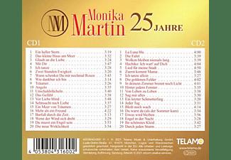 Monika Martin - 25 Jahre:Ihre größten Erfolge  - (CD)