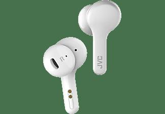Auriculares inalámbricos - JVC HA-A8T, 15h, Bluetooth, True Wireless, IPX4, Blanco