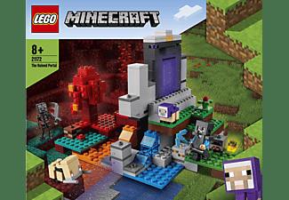 LEGO 21172 Das zerstörte Portal Bausatz, Mehrfarbig