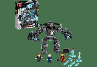 LEGO 76190 Iron Man und das Chaos durch Iron Monger Bausatz, Mehrfarbig