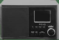 PEAQ PDR 170 BT-B DAB+ Radio, DAB+, FM, Schwarz