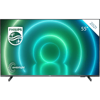PHILIPS 55PUS7906/12 LED TV (Flat, 55 Zoll / 139 cm, UHD 4K, SMART TV, Ambilight, Android TV™ 10 (Q))