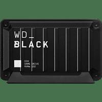 WD BLACK™ D30 Game Drive, Gaming Festplatte, Schwarz