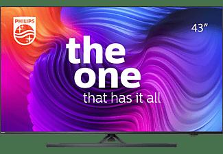 PHILIPS 43PUS8546/12 LED TV (Flat, 43 Zoll / 108 cm, UHD 4K, SMART TV, Ambilight, Android TV)