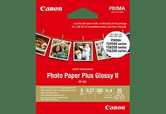 CANON Plus Glossy II Fotopapier 90 x 90 mm Photo Paper Plus