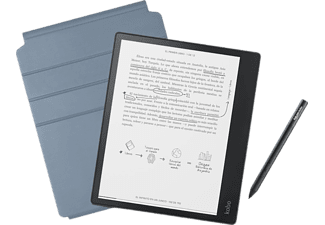 "eReader - Kobo Elipsa, 10.3"" 1872 x 1404, 32 GB, Para eBook, e-Ink Carta, Negro + Funda + Stylus Pen"