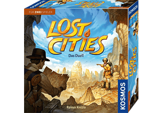 KOSMOS Lost Cities - Das Duell Gesellschaftsspiel Mehrfarbig