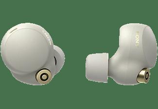 SONY WF-1000XM4, Earbuds, Ladeetui, In-ear Kopfhörer Bluetooth Silber