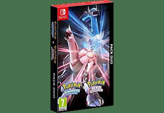 Nintendo Switch Pokémon Diamante Brillante + Pokémon Perla Reluciente (Ed. Dual)