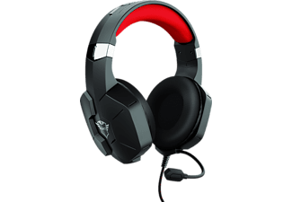 TRUST GXT 323 Carus, Over-ear Gaming Headset Schwarz