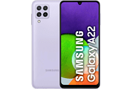 "Móvil - Samsung Galaxy A22 5G, Violeta, 128 GB, 4 GB RAM, 6.6"" FHD+, MT6739 , 5000 mAh, Android 11"