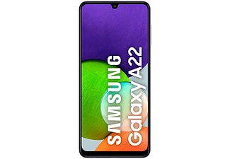 "Móvil - Samsung Galaxy A22 LTE, Violeta, 128 GB, 4 GB, 6.4"" HD+, MediaTek MT6769V, 5000 mAh, Quad Cam, Android"