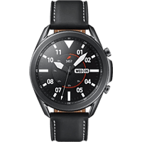 "Smartwatch - Samsung Galaxy Watch3, 45mm, 1.4"", Bluetooth, Exynos 9110, 8GB, 340 mAh, 5 ATM, Acero Inox, Negro"