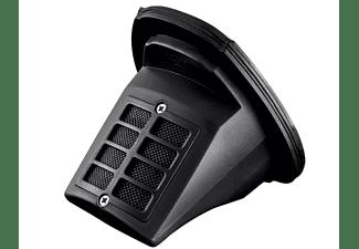 Aspirador de mano - OK OVR 7220, 7.2 V, 0.5 l, Autonomía 15 min,  Función Wet & Dry, Negro/Rojo