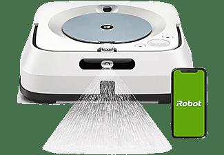 Robot friegasuelos - iRobot Braava Jet M6, Pulverizador de chorro a presión, Friega, WiFi, App