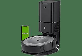 Robot aspirador - iRobot Roomba® i3+, Clean Base®, 2 cepillos de goma, Dirt Detect™, Wi-Fi, Imprint, Negro
