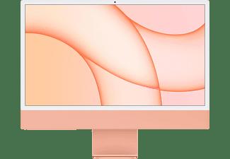 APPLE iMac Z132 CTO 2021, All-in-One PC mit 24 Zoll Display, Apple M-Series Prozessor, 8 GB RAM, 256 GB SSD, Apple M1 Chip, Orange