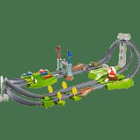 HOT WHEELS Hot Wheels Mario Kart Mario Rundkurs Trackset, Autorennbahn inkl. 2 Spielzeugautos Spielzeugautos Mehrfarbig