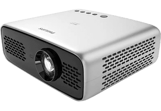 Proyector - Philips NPX643, LED, Full HD, 20000 h, Wi-Fi, Bluetooth, Altavoces integrados, Gris