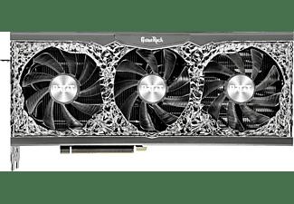 PALIT GeForce RTX™ 3070 Ti GameRock OC 8 GB LHR (NED307TT19P2-1047G) (NVIDIA, Grafikkarte)