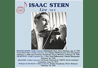 Isaac/monteux/mitropoulos/leinsdorf/+ Stern - Isaac Stern: Live,Vol.8  - (CD)