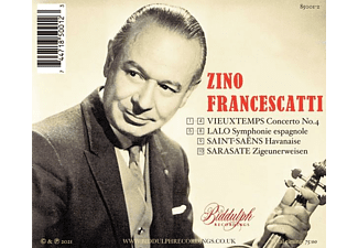 Zino Francescatti - Francescatti Plays Lalo And Vieuxtemps  - (CD)