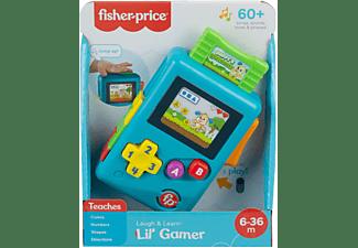 FISHER PRICE Lernspaß Lil' Gamer mit Musik und Licht, Lernspielzeug Spielset Mehrfarbig