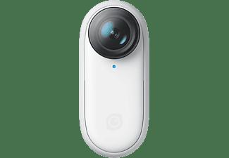 INSTA 360 Go 2 Action Cam mit 32GB Speicher, 1440/50p, Bluetooth, 4m Wasserdicht, Weiß
