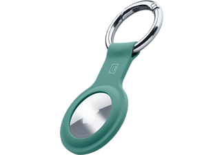 CELLULAR LINE Key Ring für Apple AirTag, Grün
