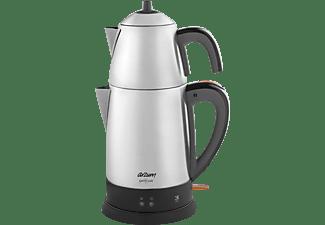 ARZUM AR3051- INX Teekocher (1800 Watt , Silber)