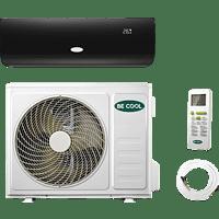BECOOL BCB18SK2101QW Split Klimagerät Schwarz/Weiß Energieeffizienzklasse: A++, Max. Raumgröße: 160 m³