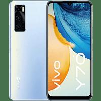 """Móvil - Vivo Y70, Azul, 128 GB, 8 GB, 6.44"""" FHD+, Qualcomm® Snapdragon™ 665, 4100 mAh, Android"""