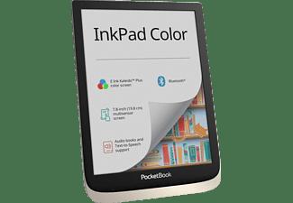 POCKETBOOK Bundle InkPad Color inklusive Origami  16 GB eReader Moon Silver