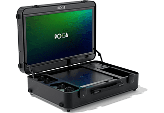 POGA Pro Black - PS4 Slim Inlay Gamingkoffer, Schwarz