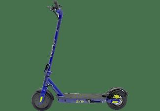 Patinete eléctrico - SmartGyro Ziro Blue, 500 W, 3 velocidades, 8800 mAh, 25 km/h, Azul