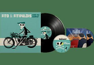 Fito Y Fitipaldis - Cada Vez Cadáver + 20 Años Y Una Noche - LP + CD + DVD