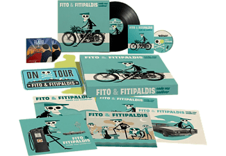 Fito Y Fitipaldis - Cada Vez Cadáver + 20 Años Y Una Noche (Ed. Box) - CD + LP + DVD + Matrícula + Lámina