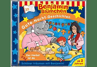 Benjamin Gute Nacht Geschichten - Folge 32: Der Herbst ist da [CD]