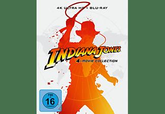 Indiana Jones 1-4 (Steelbook Edition) 4K Ultra HD Blu-ray