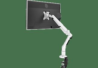 DESQ Monitorarm mit Gasdruckfeder, Tragkraft 3-12kg, Höhe bis 510mm, VESA 75-100, Weiß